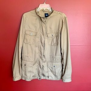 < Gap Khaki Jacket >